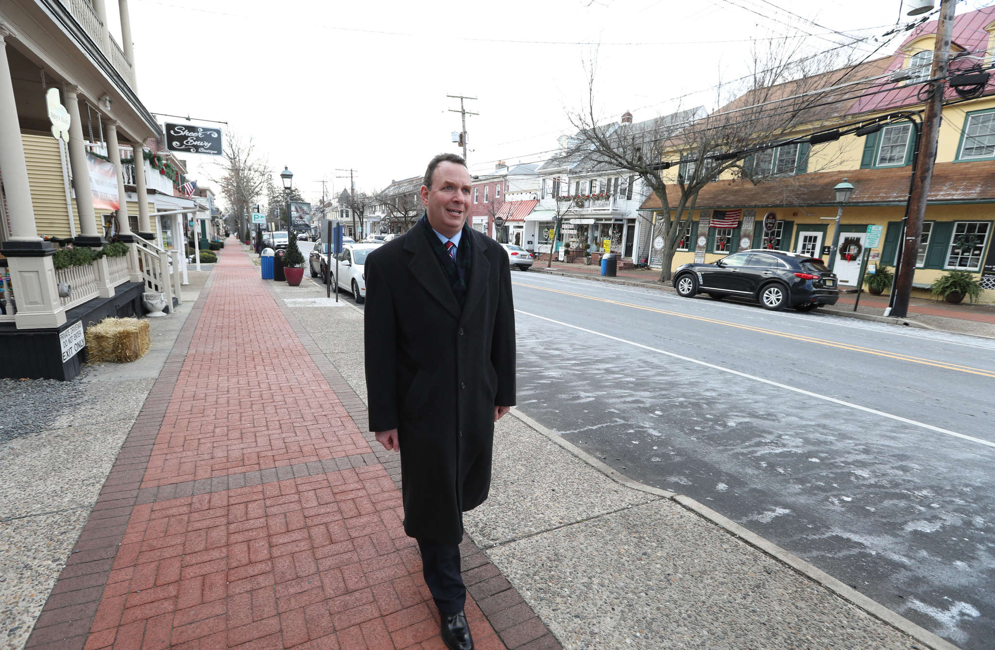 """""""We want to bring in businesses that really draw people and make it a place where people gather,"""" Medford Mayor Jeff Beenstock says of """"The Village,"""" a downtown commercial area."""