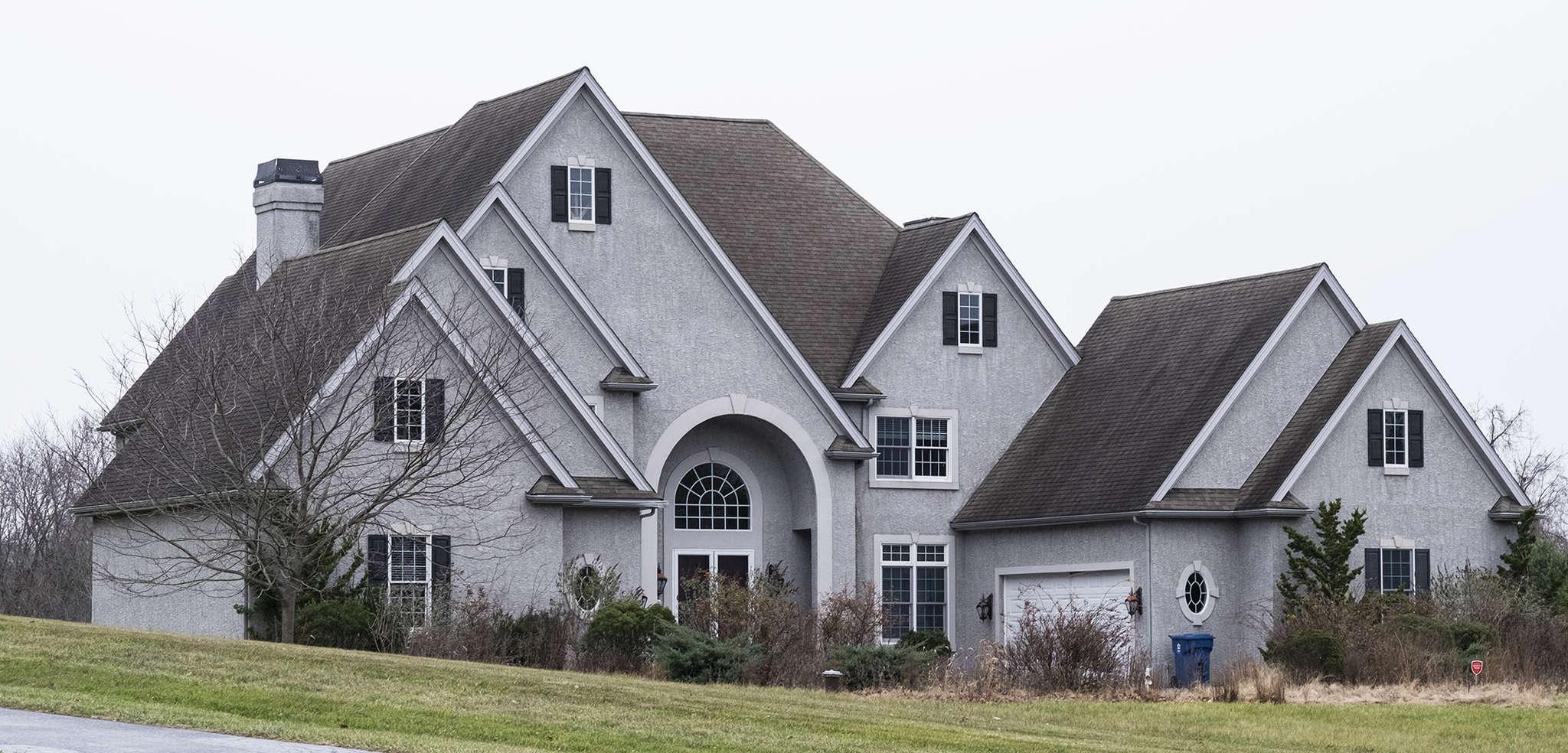On Nivin Lane, a five-bedroom, six-bathroom house lists for $625,000.