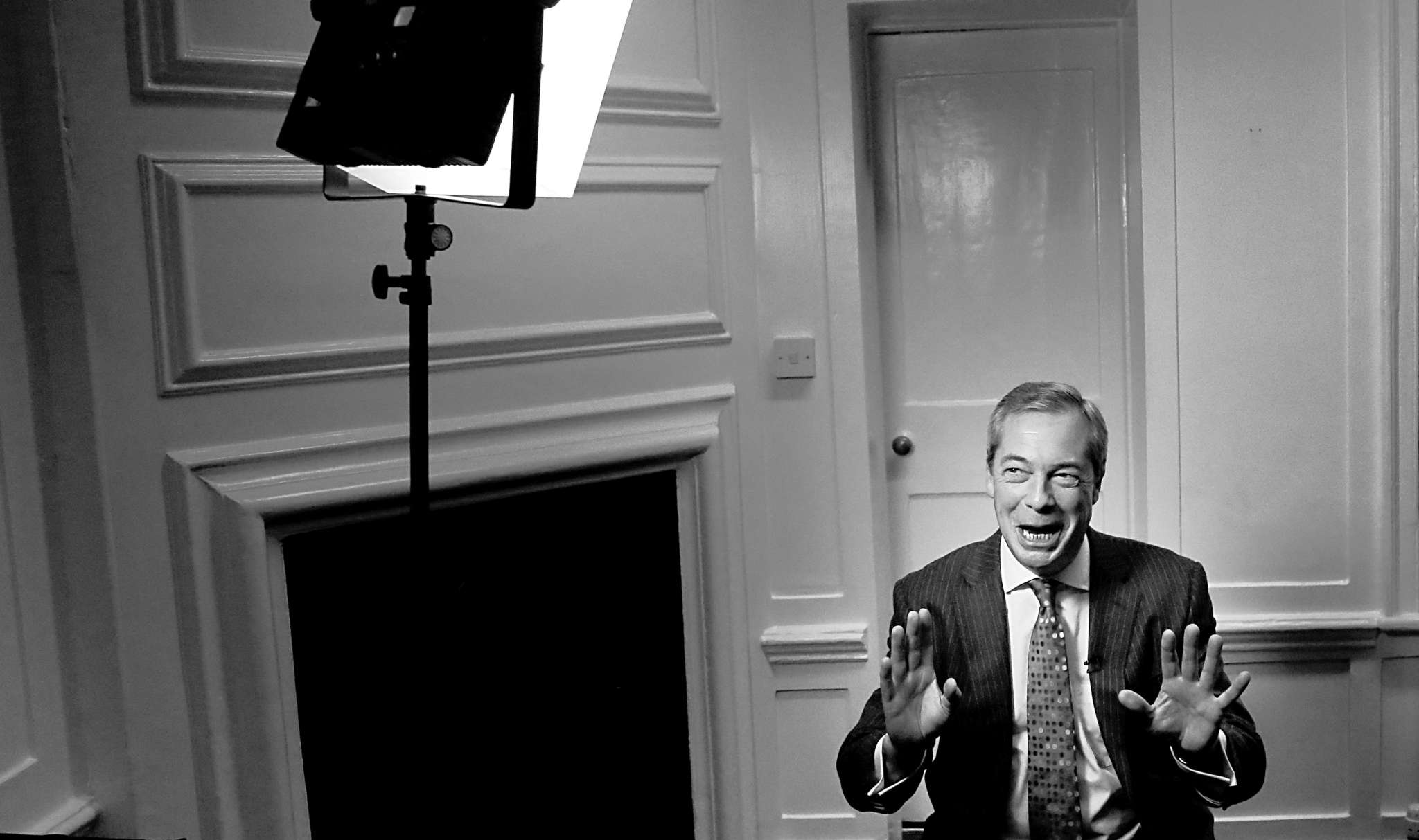 Nigel Farage, leader of the Brexiteers, has the support of Trump.