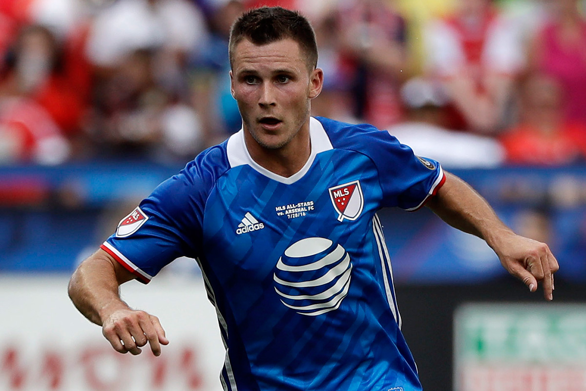 Keegan Rosenberry has been released from the U.S. national team´s January training camp.