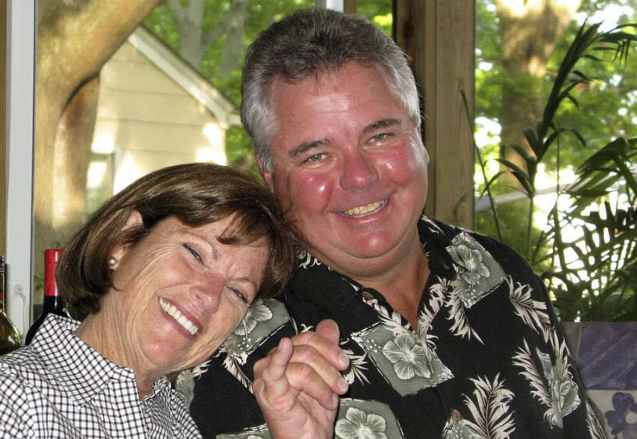 Ann Andres and husband, Terry , of Virginia Beach. Terry Andres was reported killed in the airport shooting Friday.