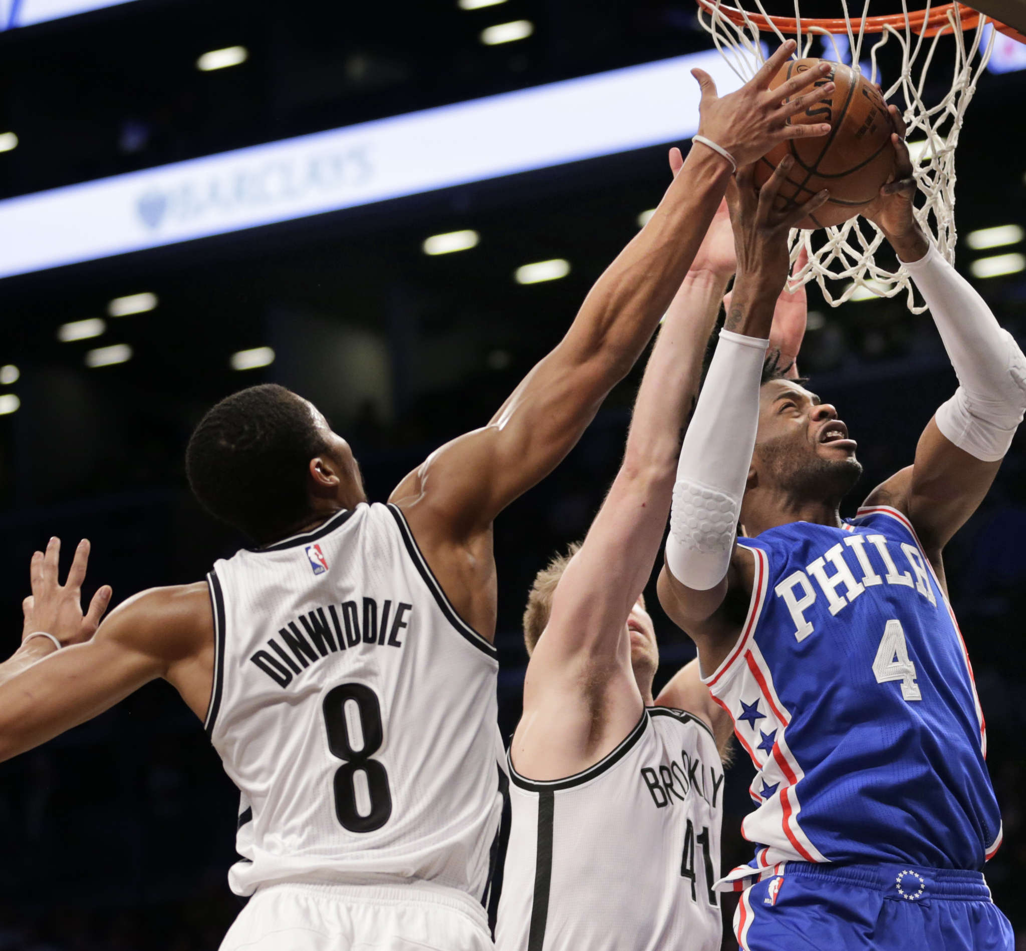 Nerlens Noel is a good player to lead the Sixers´ second unit. ASSOCIATED PRESS