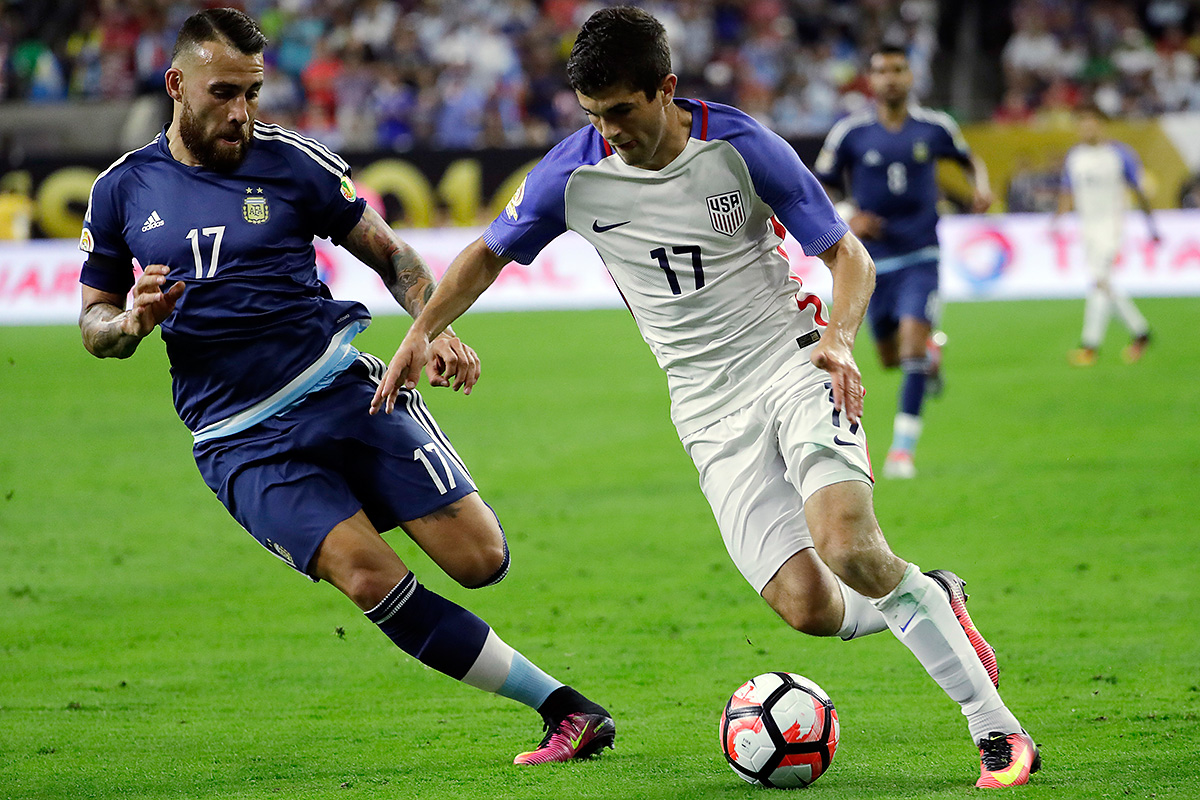 Christian Pulisic is one of the U.S. men´s national team´s biggest stars.