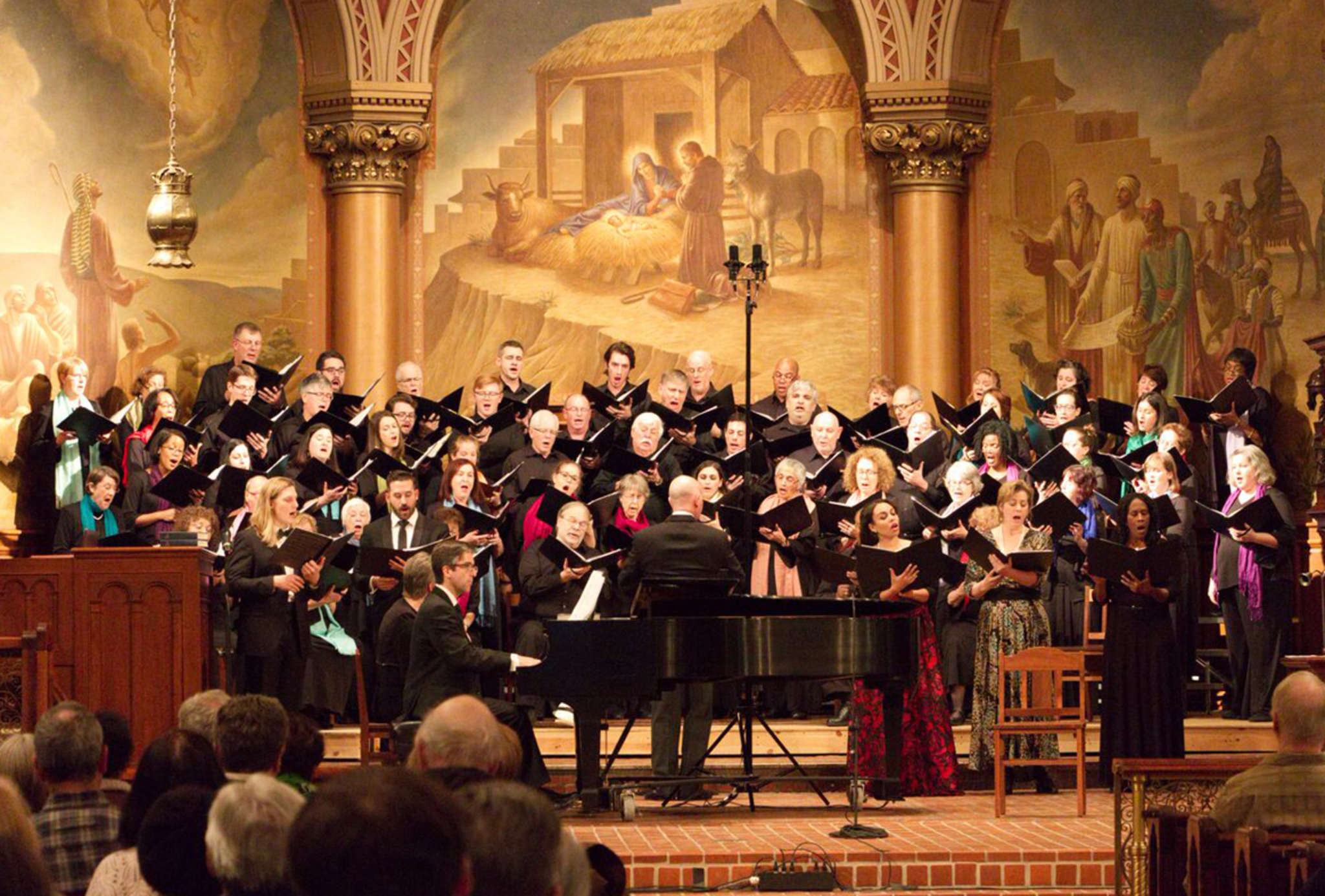"LyricFest and Singing City choir´s ""Music in the White House"" concert."