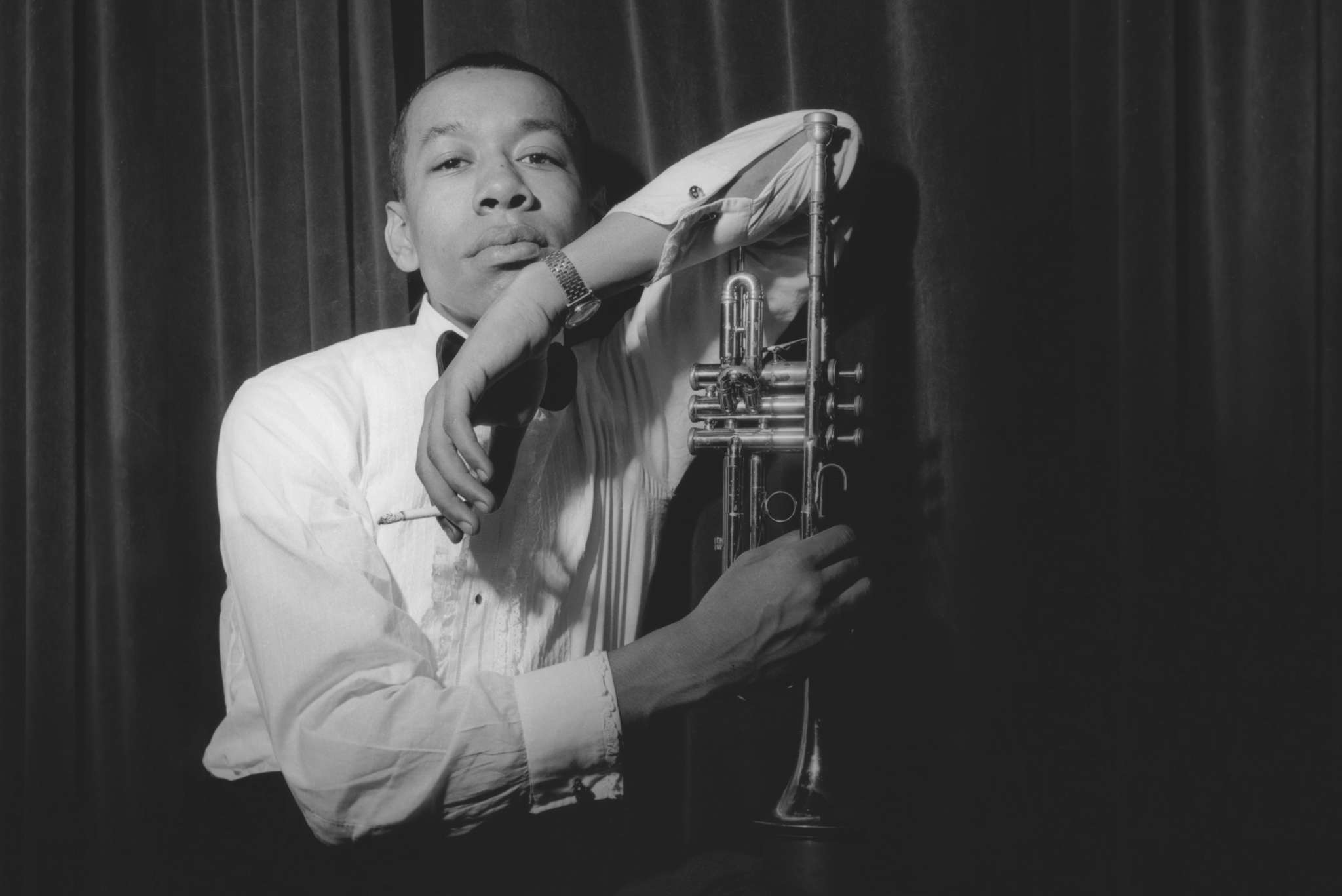 """""""I Called Him Morgan"""": Jazz trumpeter Lee Morgan, in a 1960 portrait, from the documentary directed by Kasper Collin."""