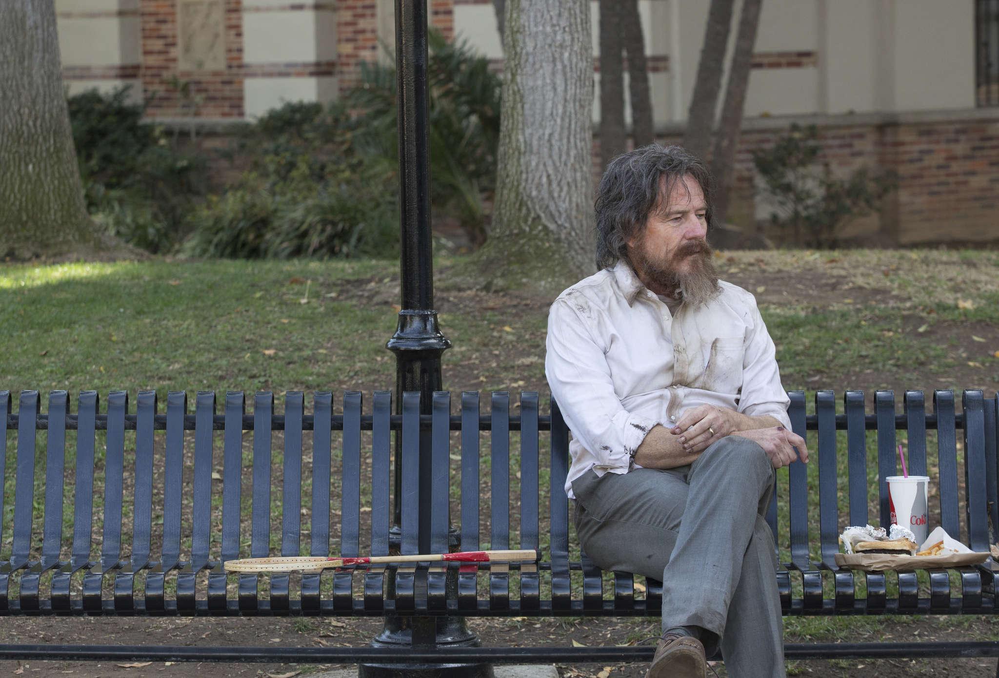 """Wakefield"": Bryan Cranston portrays a New York City lawyer who suffers a nervous breakdown."