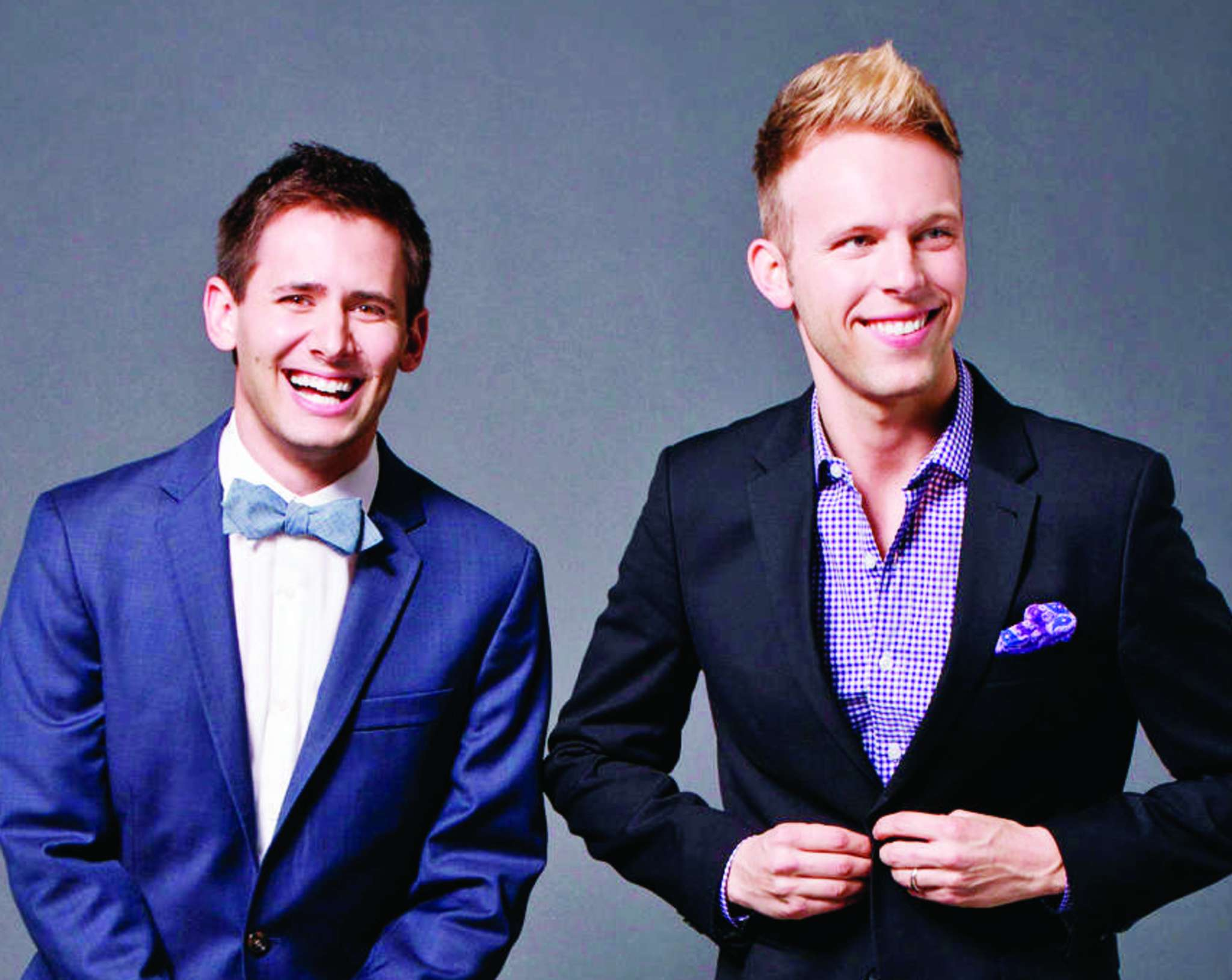 "Benj Pasek (left) and Justin Paul won an Oscar for ""La La Land."""
