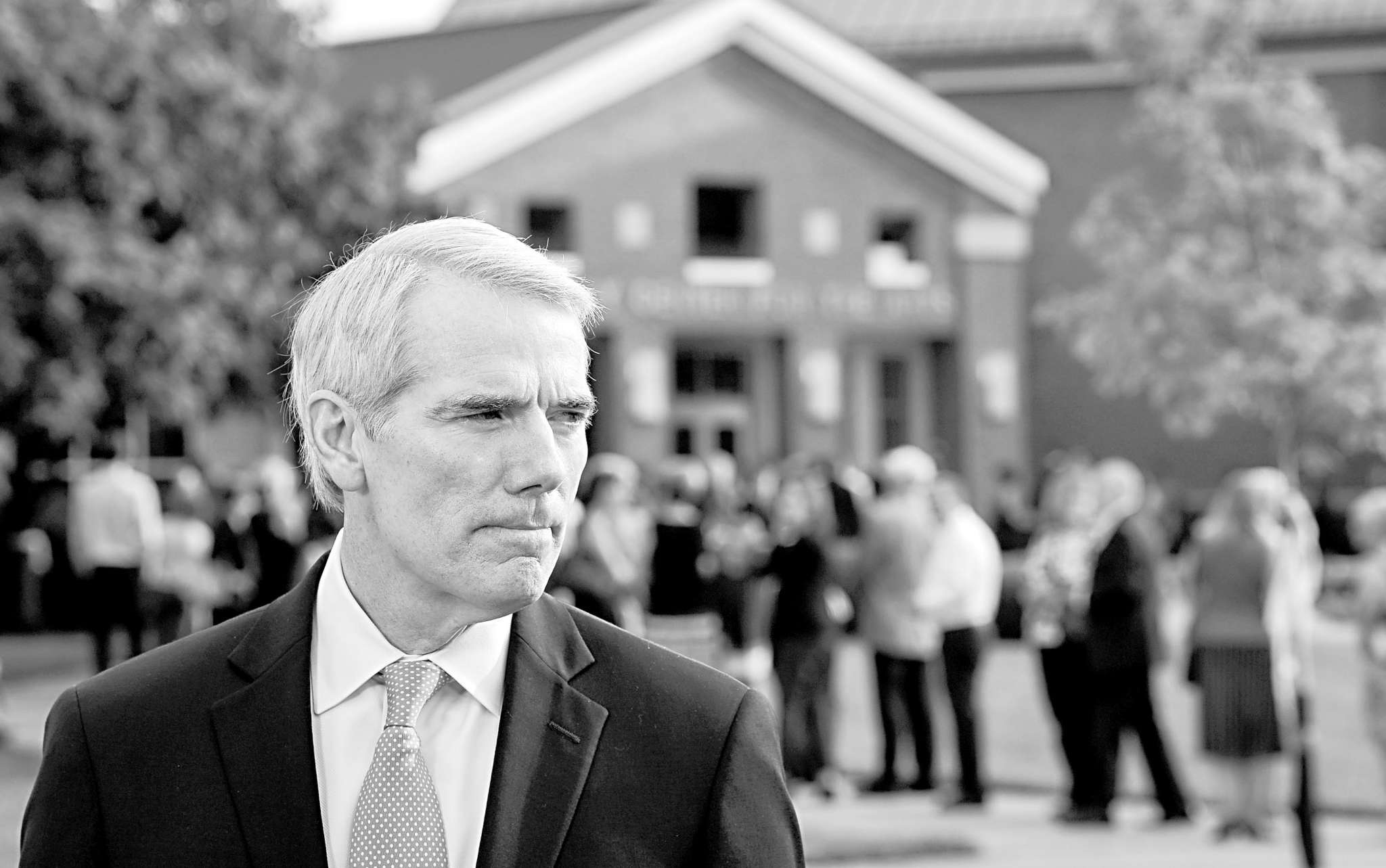 "Sen. Rob Portman (R., Ohio) said the threat from Russia ""is much bigger than one president."""