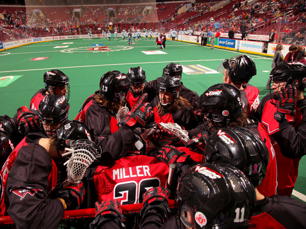 The Wings´ season ended in Round One of the NLL playoffs. (Philadelphia Wings photo)