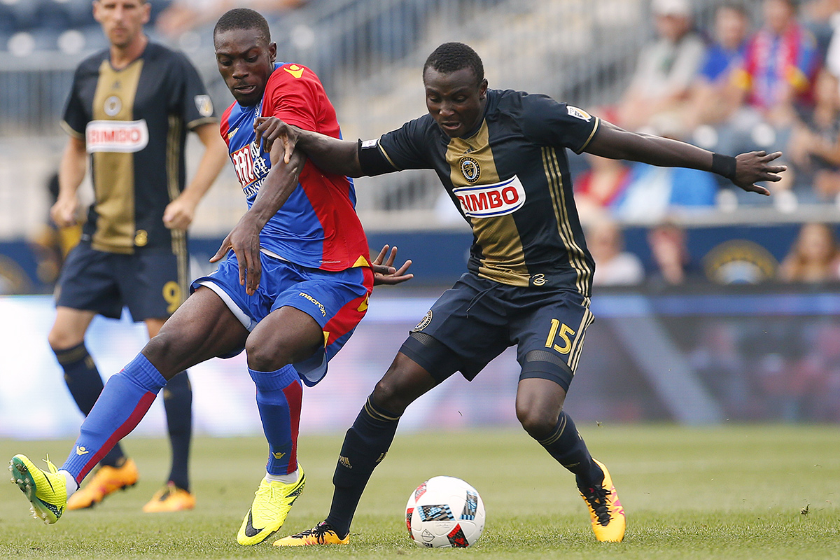 The Union´s Josh Yaro (right) is progressing toward a return.
