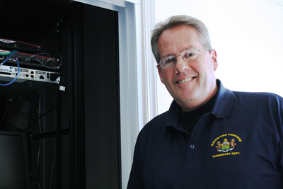 Rick Maclary became Haverford Township´s first information technology director in 2008. Township Manager Larry Gentile tasked him with a makeover of the township´s network and communication system. (Ashley Nguyen / Philly.com)