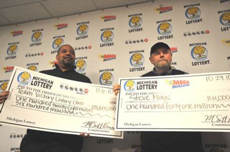"Two big winners in one recent week in Michigan. (Too see more winners of giant jackpots, click ""View Images"" below.)"