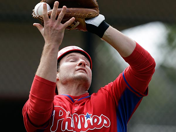 Catcher Lou Marson was among those sent to minor league camp. (AP Photo/Steven Senne)