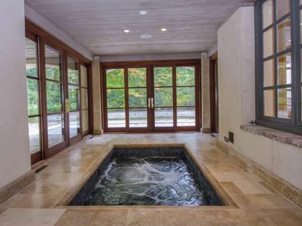 Beautiful Indoor Hot Tub Prices Illustration - Bathroom with Bathtub ...