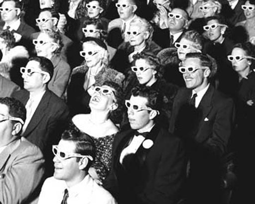Old 3-D glasses were nerdy; the new specs are Tina Fey hip.