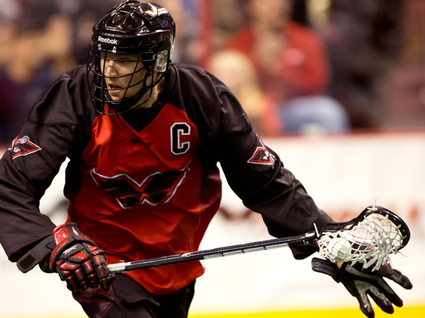 Brodie Merrill believes that lacrosse demands a well-rounded athlete. (Philadelphia Wings photo)