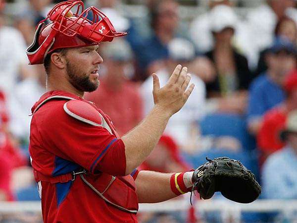 Phillies catching prospect Cameron Rupp. (Kathy Willens/AP)