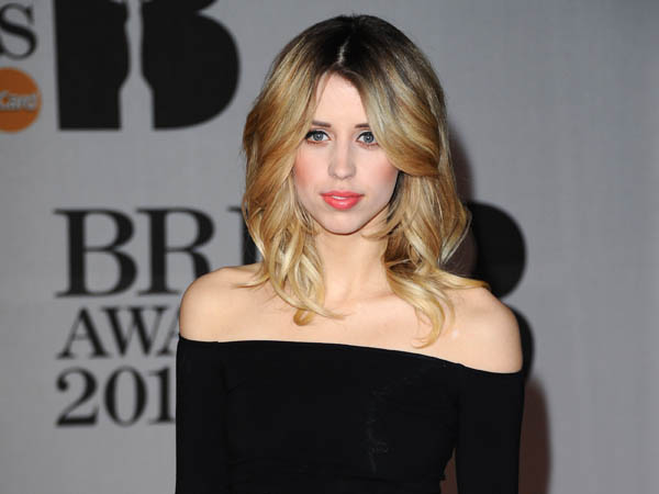 LONDON, ENGLAND - FEBRUARY 19:  Peaches Geldof attends The BRIT Awards 2014 at 02 Arena on February 19, 2014 in London, England.  (Photo by Anthony Harvey/Getty Images)
