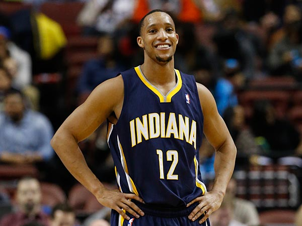 Former Indiana Pacers guard Evan Turner. (Matt Slocum/AP)