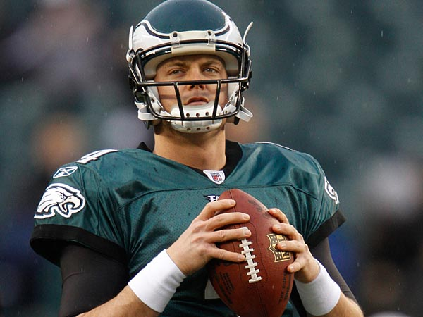 Former Eagles QB Kevin Kolb. (AP Photo/Matt Slocum)