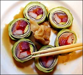 The Naluto roll.                                      (John Costello / Inquirer)