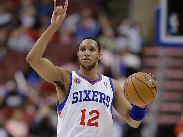 76ers guard Evan Turner. (Matt Slocum/AP)