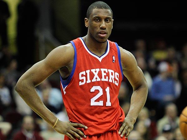 Philadelphia 76ers forward Thaddeus Young. (Tony Dejak/AP)