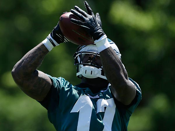 Eagles wide receiver Arrelious Benn. (Matt Rourke/AP)