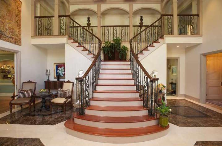 For sale sensational staircases to make a grand entrance for Staircase ideas near entrance