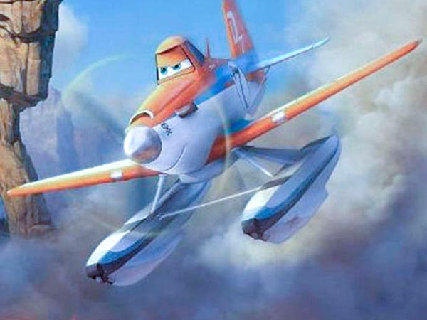 "Dusty Crophopper (voiced by Dane Cook) is fighting fires in a national park these days in this sequel to ""Planes."""