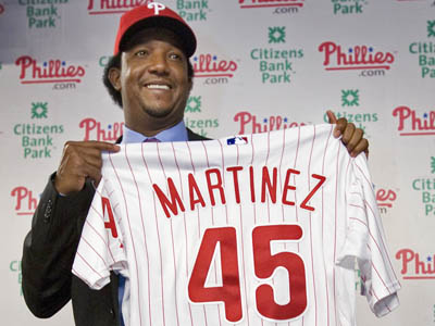 The Phillies have guaranteed Martinez just over $885,000 for the rest of the season.    (Alejandro A. Alvarez / Staff Photographer)