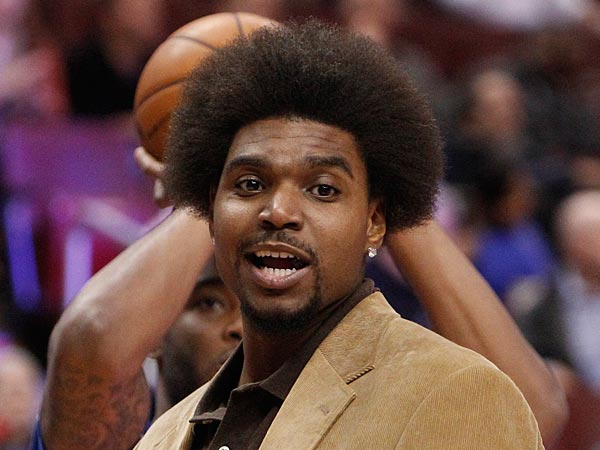 Andrew Bynum (Ron Cortes / Staff Photographer) <br /><br /><br /><br /><br /><br /><br /><br /><br /><br />