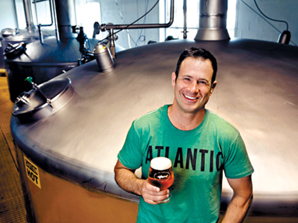 Dogfish Head Brewing Company (6 Cannery Village Center, Milton, DE): Now a legend among microbrewers, Sam Calagione (pictured) founded Dogfish Head in 1995. Available in 28 states, some of Dogfish Head´s best known beers are the 60 and 90-minute IPAs, but don´t miss out on their spring and summer seasonals, the Aprihop and the Festina Peche. (Staff File Photo)