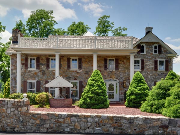 This historic farm house in Chester Springs is on the market for $1.87 million.