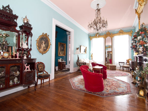 The 1860s Bella Vista home is on the market for $1.2 million.