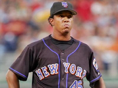 Pedro Martinez is in Philadelphia to take a physical today. (AP)