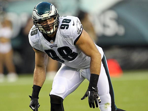 Eagles outside linebacker Connor Barwin. (Yong Kim/Staff Photographer)