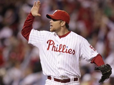 Can Brad Lidge right himself and be the closer he was in 2008? (David Maialetti / Staff Photographer)