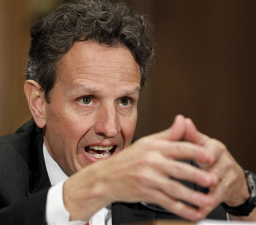 Treasury Secretary Timothy Geithner, testifying in December at a congressional oversight committee hearing on TARP, called the program a success. (AP Photo/Alex Brandon)<br />