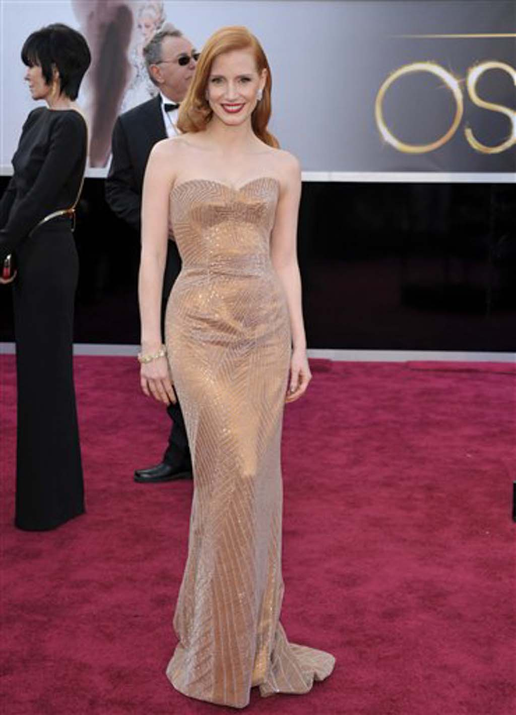 2013 Oscars Red Carpet Who Wore What To The 85th Academy