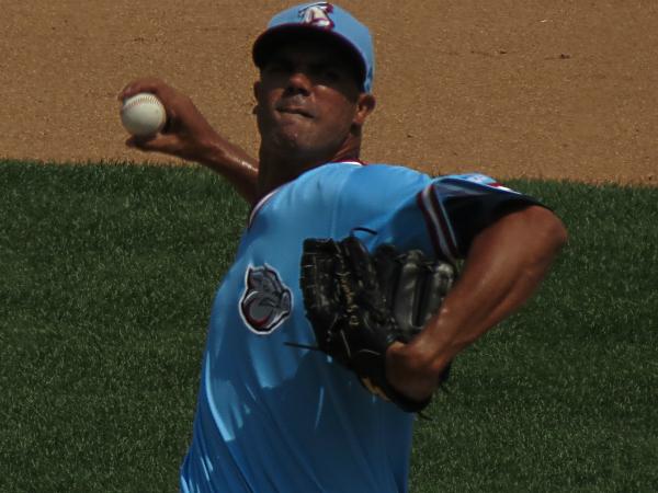 Phillies prospect Miguel Alfredo Gonzalez. (Photo by Marc Narducci)
