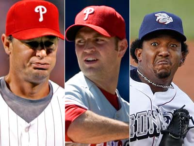 Who will be the odd man out in the starting rotation?    (Inquirer file photos)