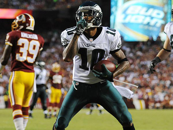 Philadelphia Eagles wide receiver DeSean Jackson. (Clem Murray/Staff Photographer)