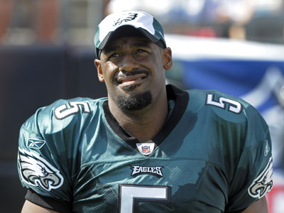 Could Donovan McNabb be ready for the Saints in week 2?    (AP Photo/Mike McCarn)