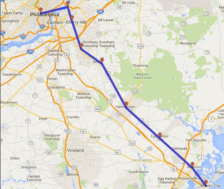Philadelphia To Atlantic City Airport Train