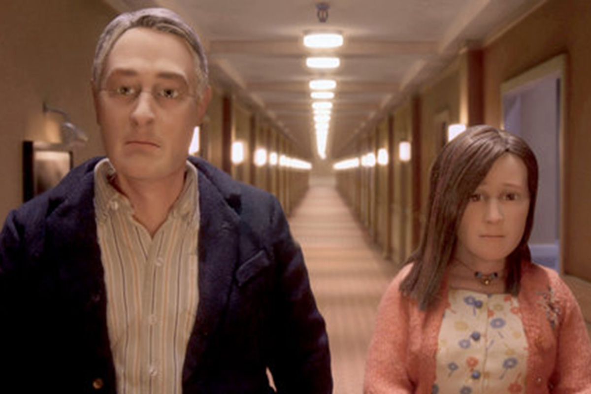 "Puppet life: In Charlie Kaufman's ""Anomalisa,"" the characters are portrayed in stop-motion animation. Paramount Pictures"