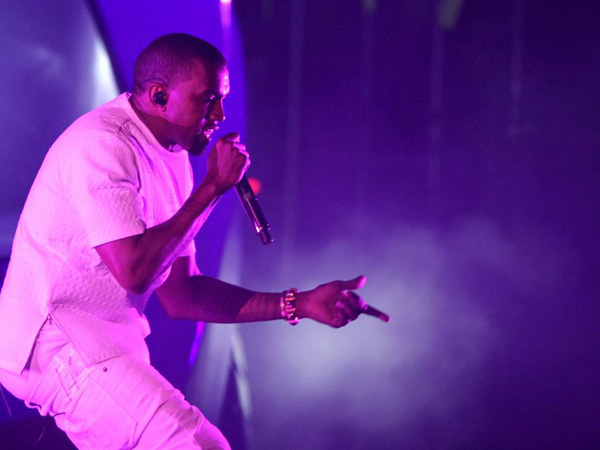 In this July 1, 2012 file photo, Kanye West performs at the BET Awards  in Los Angeles. (Photo by Matt Sayles/Invision/AP, File)