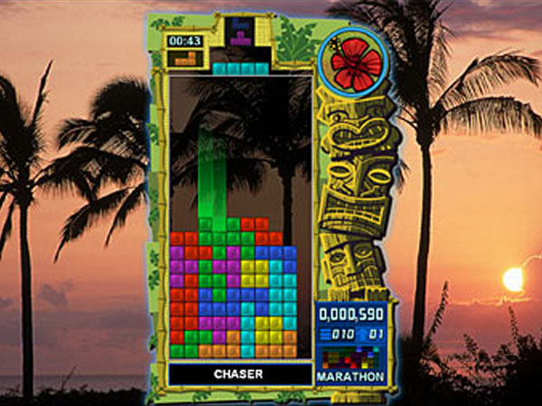 "This undated screen shot provided by THQ shows the game ""Tetris Evolution."" (AP Photo/THQ)"