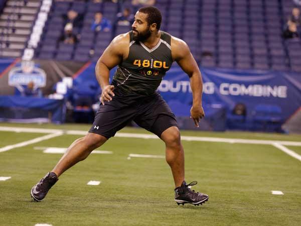 Penn State offensive lineman John Urschel. (Michael Conroy/AP)