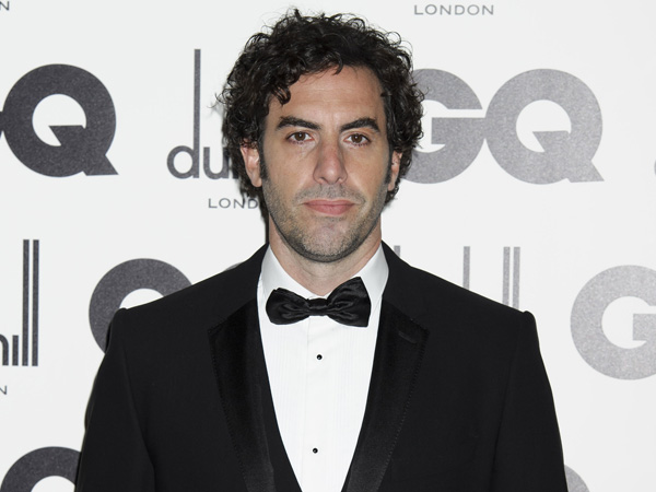 Sacha Baron Cohen arrives for the GQ Men of the Year Awards at a central London venue, Tuesday, Sept. 4, 2012. (AP Photo/Jonathan Short)